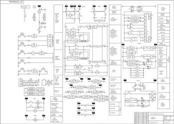4.Схема РЗА отходящих линий КЛ 401-412 А1