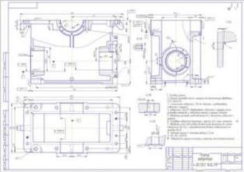 Проектирование индивидуального привода с червячно-цилиндрическим редуктором