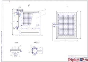 Реконструкция разборочно-моечного участка с разработкой струйной моечной установки