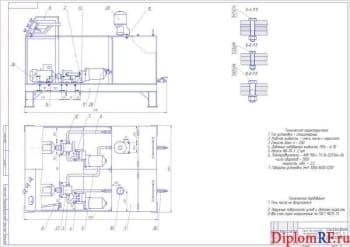 Организация ремонта и ТО техники с разработкой стенда для промывки масляных каналов ДВС