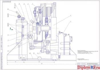 Проект агрегатного участка с разработкой стенда для испытания пневмогидроусилителя сцепления КамАЗ