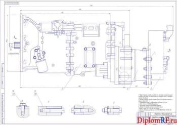 Совершенствование тормозов автомобиля Scania R440 с конструктивной разработкой вспомогательной тормозной системы