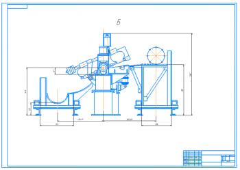 Проект полуавтоматической линии для обработки торцов штанг с разработкой механизма привода лентопильного станка по металлу