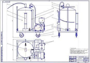 Совершенствование ТО автопарка за счет внедрения конструктивной разработки устройства для забора отработанного масла из картера двигателя и агрегатов трансмиссии