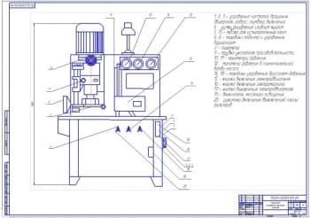 Дипломный проект организации технического обслуживания и ремонта МТП с разработкой стенда для обкатки и испытания масляных насосов