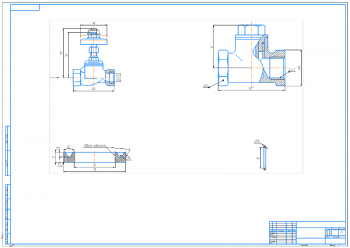 4.Сборочный чертеж крана А1