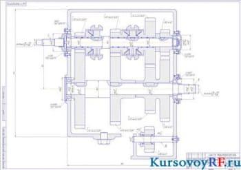 Определение тягово-динамических свойств автомобиля с разработкой конструкции коробки передач автомобиля