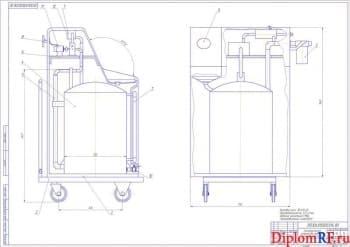 Проект участка ТО и ТР системы охлаждения двигателя с разработкой технологического устройства промывки потоковой системы в мастерской аграрного хозяйства