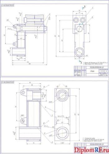 Сборочные узлы конструкции (А1)