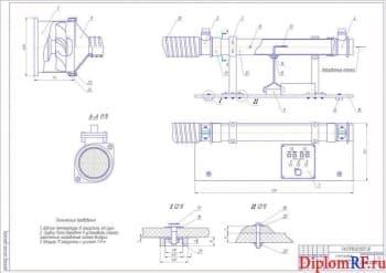 Пункт ТО легковых автомобилей с разработкой стенда проверки расходомеров воздуха