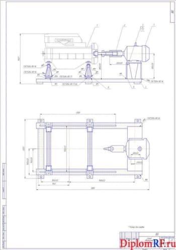 Организация ремонта двигателей с разработкой стенда для обкатки ДВС