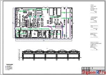 Чертеж участка ремонта шасси (формат А1)