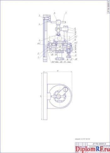 Слесарно-механический участок с проектом приспособления для восстановления крестовины