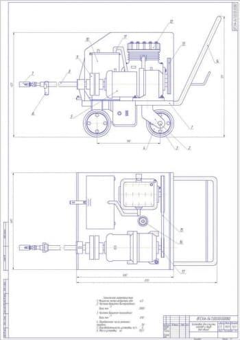 Механизация ТО оборудования фермы с разработкой установки для очистки труб и котельных установок