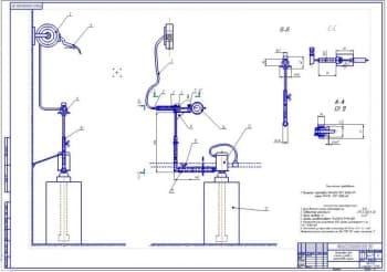 Организация ТО и ремонта ТТК с разработкой установки для заправки машин трансмиссионными маслами