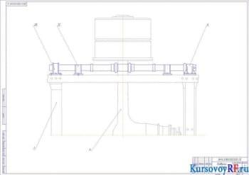 Подвеска задняя 2 (формат А1)