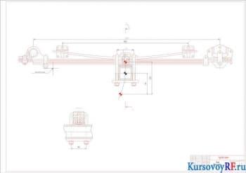 Проектирование рессорной подвески грузового автомобиля