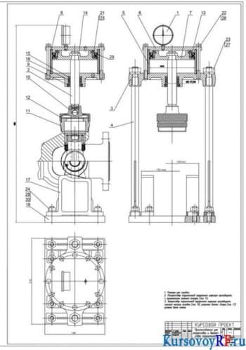 Конструирование и определение конструктивных параметров карданной передачи автомобиля
