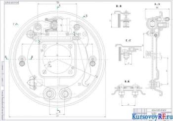 Конструирование легкового автомобиля с определением расчетных параметров карданной передачи
