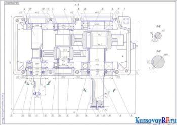 Разработка привода с цилиндрическим редуктором