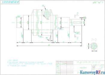 Проектирование червячного редуктора привода грузовой тележки мостового крана