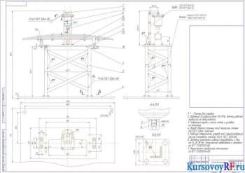 Проект реконструкции кузнечно-рессорного участка с разработкой специализированного стенда ремонта задних рессор