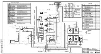 6.Чертеж склада ГСМ, схема соединений (монтажная) 2хА1