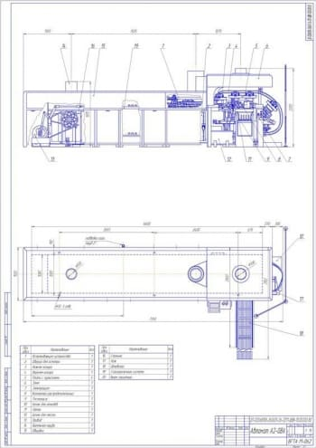 6.Сборочный чертеж автомата А2-0BA А1