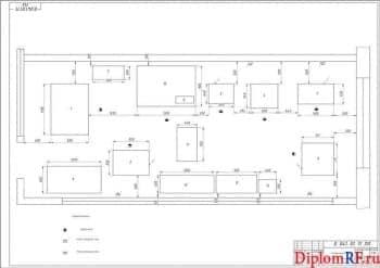 Схема агрегатный цех (формат А1)