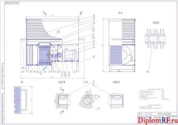 Проект установки по очистке воздуха на участке технического обслуживания машин