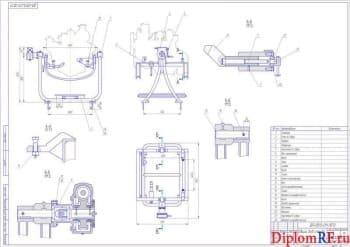 Проектирование стенда для ремонтно-восстановительных работ двигателей ЗИЛ-130
