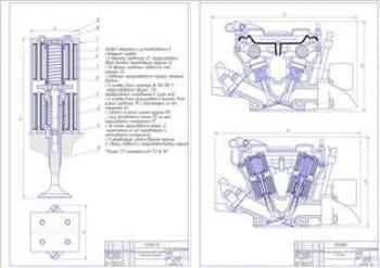 Модернизация газораспределительного механизма двигателя ЗМЗ-406