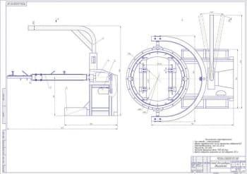 Реконструкция транспортного цеха с разработкой стенда для ремонта двигателейДВС грузовых автомобилей