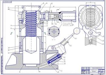 Организация хранения транспортно-технологических машин и оборудования с разработкой гидравлического домкрата