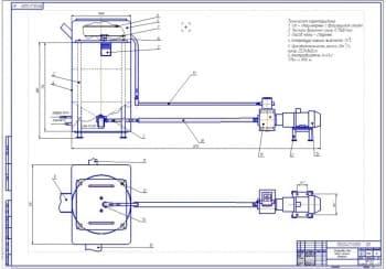 Дипломный проект обеспечения безопасности жизнедеятельности в автотранспортном цехе с разработкой установки для мойки деталей в процессе разборки узлов и агрегатов машин