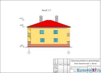 Проектирование живого двухэтажного дома из силикатного кирпича