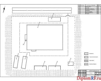 Схема генеральный план (формат А)