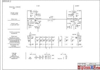Схема однолинейная электроснабжения (формат А1)