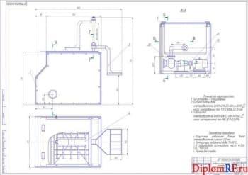 Реконструкция зоны ТО и ТР АТП с разработкой установки для мойки деталей