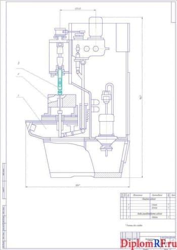 Модернизация ремонта двигателей КамАЗ с разработкой приспособления для притирки клапанов
