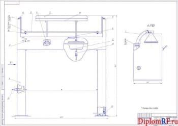 Организация ремонта двигателей ЗИЛ с проектированием стенда для разборки и сборки блока цилиндров