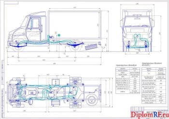 Улучшение эксплуатационных характеристик автомобиля Зил-5301 с модернизацией системы подвески