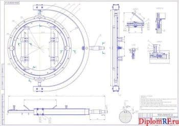 Проект реконструкции транспортного цеха с разработкой стенда для ремонта ДВС