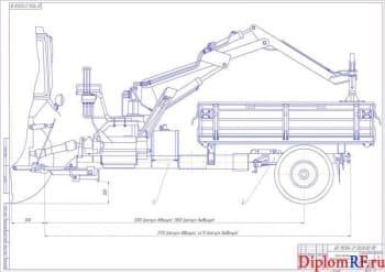 Совершенствование технологии заготовки кормов с конструктивной разработкой транспортного шасси
