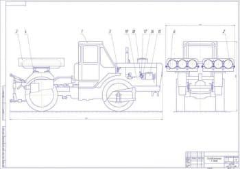 Разработка перевода на газ дизельного двигателя СМД-62 трактора Т-150К