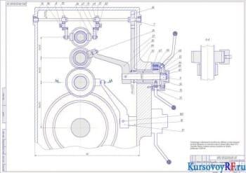 Курсовое проектирование привода основного движения токарно-лобового станка 165