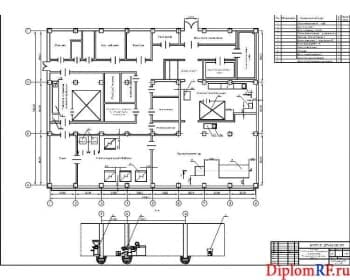 Схема план цеха (формат А)