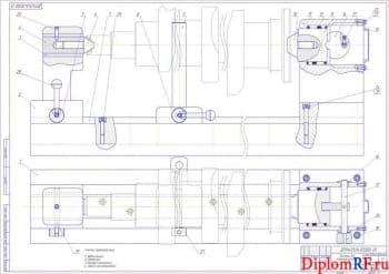 Участок восстановления коленчатых и распределительных валов с разработкой устройства для контроля прогиба валов