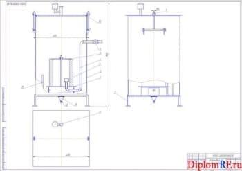 Дипломный проект зоны ремонта МТП в ремонтной мастерской агрохозяйства с разработкой установки по промывке фильтров