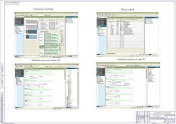 Графический интерфейс оператора (1 лист)
